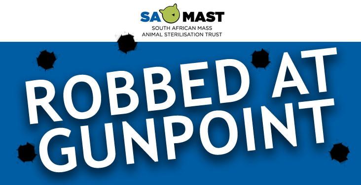 SAMAST ROBBED AT GUNPOINT